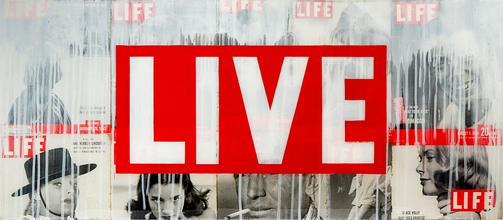 LIVE LIFE 48x21 - SOLD
