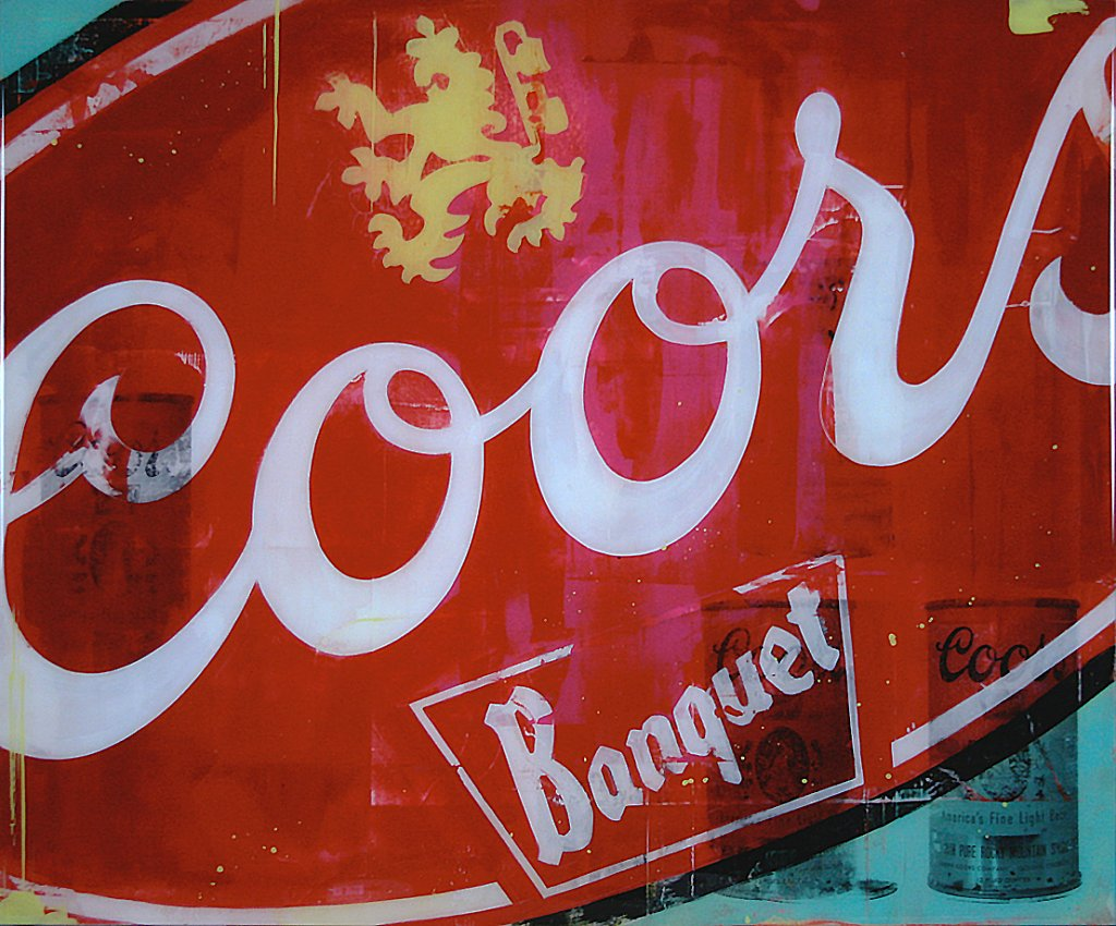 Coors Banquet 36x30 - SOLD