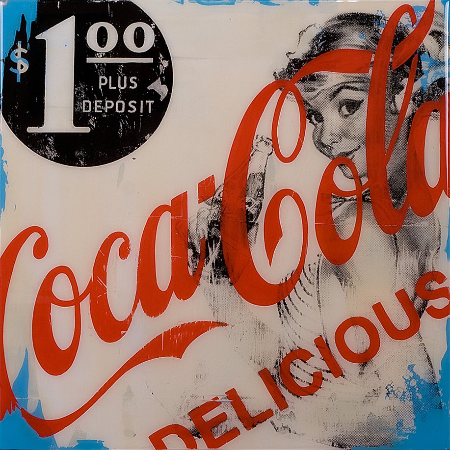Coca Cola Twenty 20x20 - SOLD