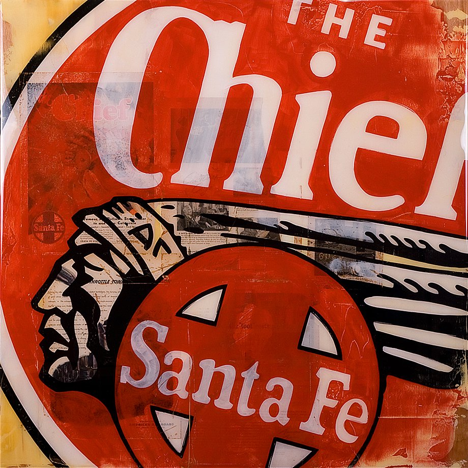 The Chief 36x36 - SOLD